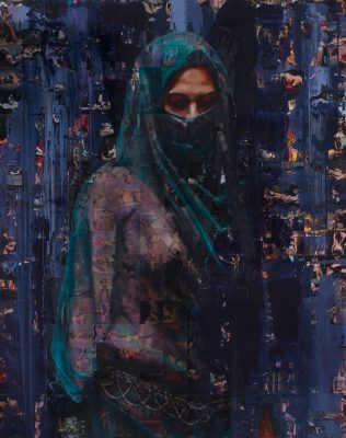 The Veil · Objectification Series 2012 · Mixed Media · 150x190cm