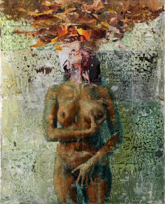 Sungazing · Objectification series 2014 · Mixed Media · 120x150cm
